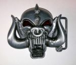 belt buckle, Motorhead Rock Heavy Metal band