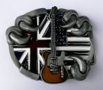 belt buckle,Guitar Eagle claw
