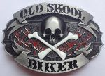 belt buckle, Old Skool Skull, Choppers belt