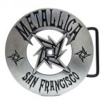 belt buckle, Metallica