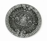 belt buckle,Aztec Calendar Circle